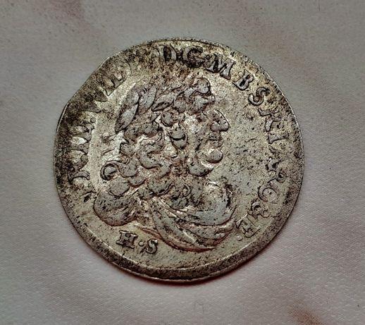 406) PRUSY KSIĄŻĘCE srebro - Szóstak - 1681 r.