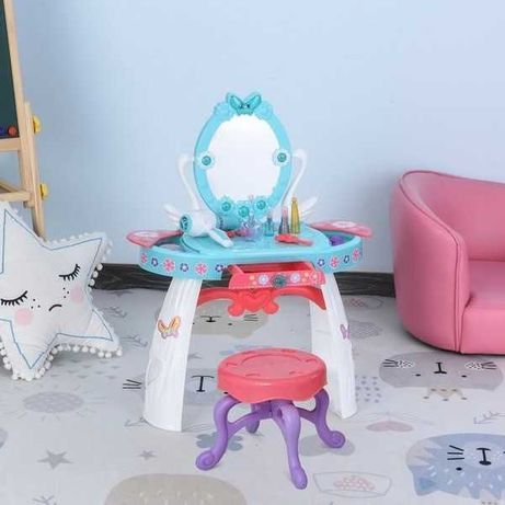 Toaletka dla dzieci z lustrem taboretem i akcesoriami NOWA!! PROMOCJA!