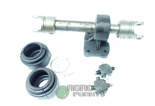Wałek kierowniczy, krzyżaki i osłony gumowe, Ursus c-385, Zetor 8011