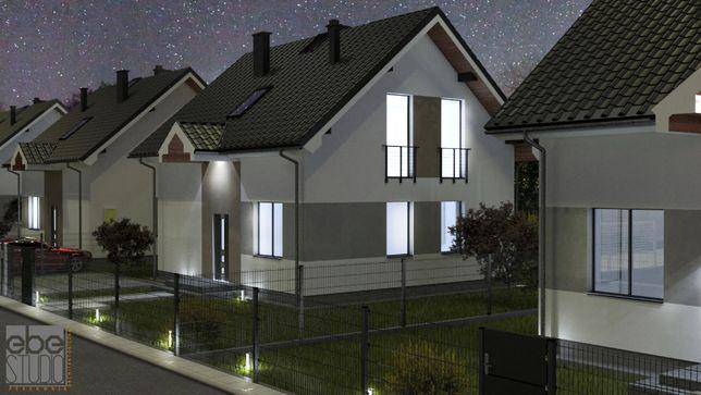 Nowe domy wolnostojące w Niepołomicach bez pośredników