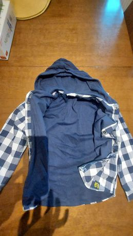 Bluza Coccodrillo 134 cm dwuwarstwowa