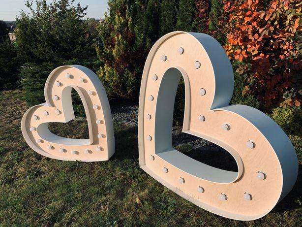 SERCA żarówkowe/małe i duże #wesele #wedding #ślub