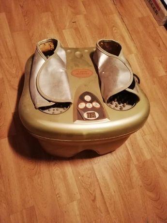 Massajador e terapia de pés por infravermelhos