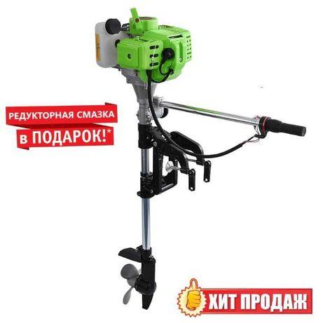 Насадка лодочный мотор на бензокосу (лодочный редуктор). + ПОДРОК