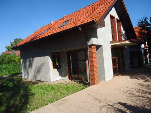Nowy dom mieszkalno-letniskowy nad jeziorem!