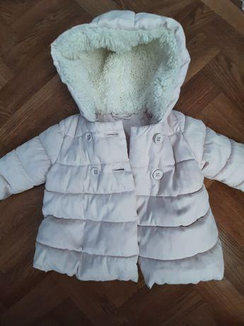Теплая куртка на девочку.Next.