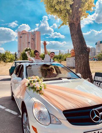 аренда авто на свадьбу БелоснеЖНые МЕРСЫ! R 350 и ML-350 по Луганску
