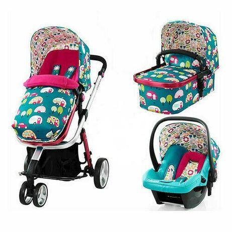 wózek 4w 1 COSATTO Giggle 2 model Happy Campers