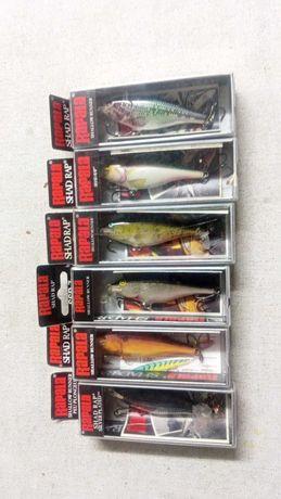 Amostras de pesca marca RAPALA modelo SHAD RAP  SSR 7 de 7 cms