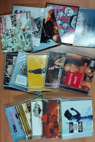 Lote de 70 CDS com Albuns varios internacionais de Pop e Hip Hop