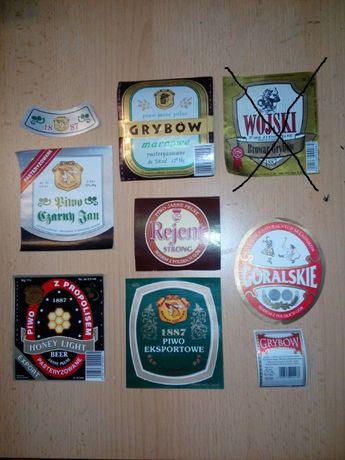 Etykiety piwne - Piwo - Browar Grybów