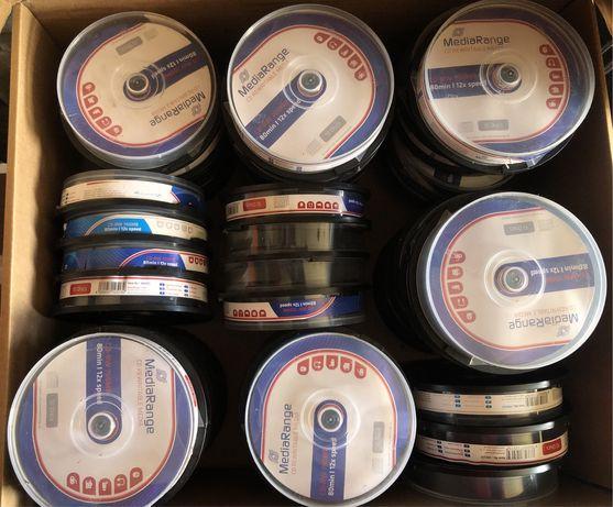 51 Packs de 10 cds regravaveis (CD+R) ou Venda à unidade