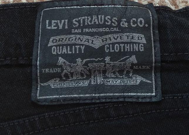 LEVI'S 510 джинсы skinny черные оригинал W34 L32