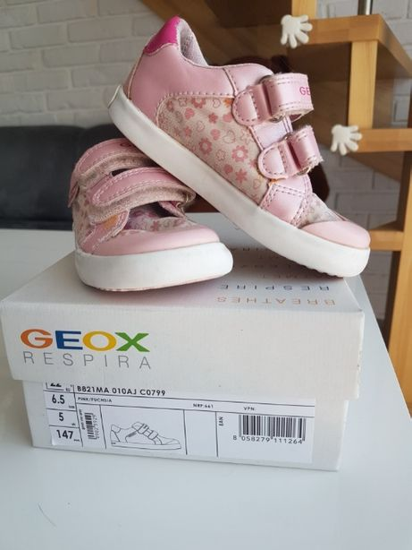 sneakersy adidasy Geox Kids Respira 22