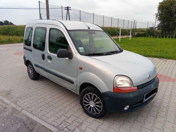 Renault Kangoo 1.4 Benzyna// 5 osób //Długie Opłaty do VIII.2022r