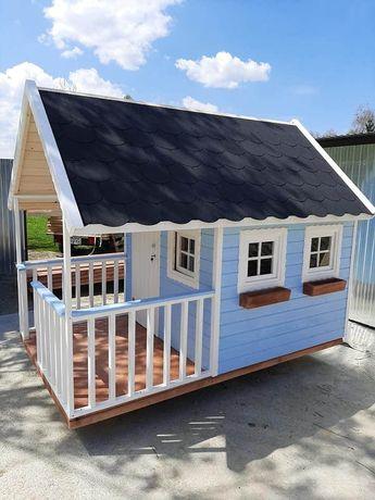 Domek dla dzieci, drewniany domek ogrodowy
