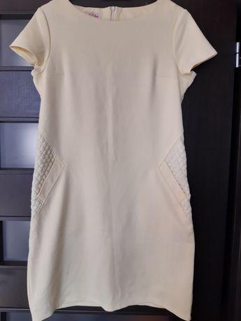 Sukienka z kieszeniami rozmiar 42