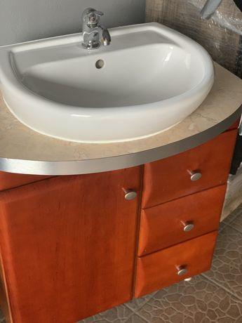 Szafka z umywalką Koło