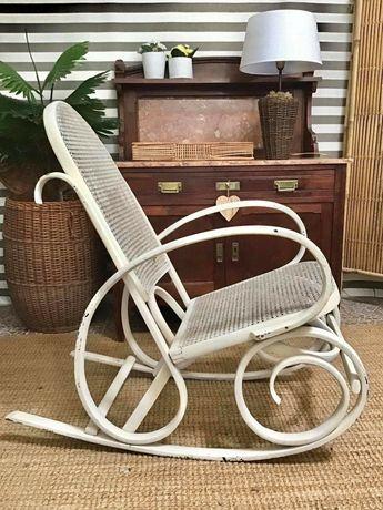 cadeira,  vintage,  baloiço, palhinha, rustico
