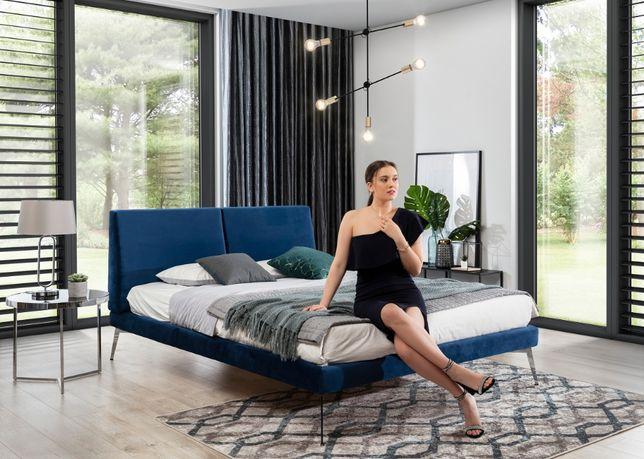 Nowoczesne łóżko do sypialni KONRADO 140