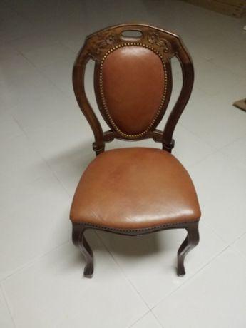 """Cadeiras estilo """"Queen Anne"""" LINDÍSSIMAS"""
