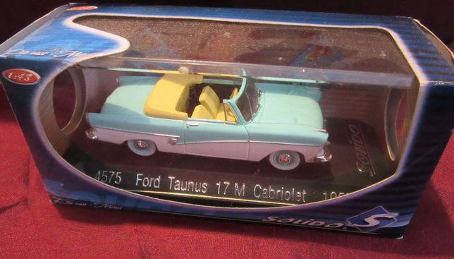 Solido Ford Taunus 17 M Cabriolet model 1:43 kolekcjonerski w gablotce
