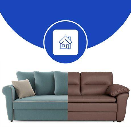 Перетяжка дивану. Ремонт м'яких меблів. Реставрація меблів.