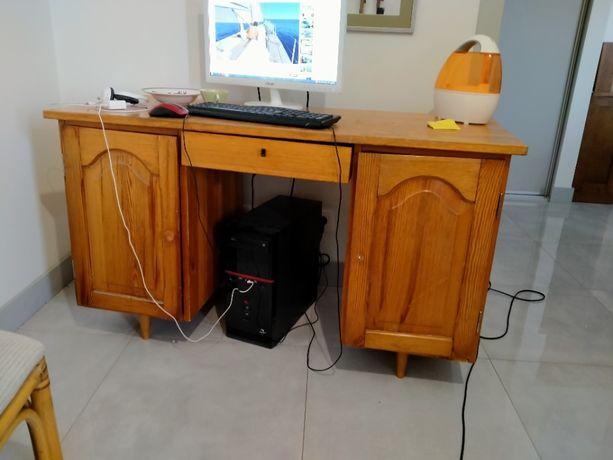 biurko 40-letnie sosnowe