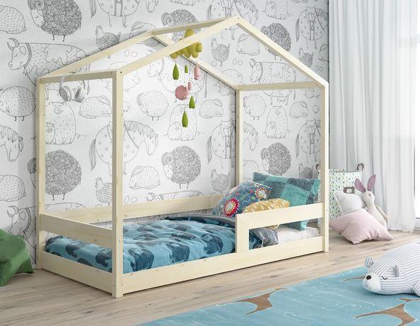 Drewniane łóżko NIKO! Materac gratis