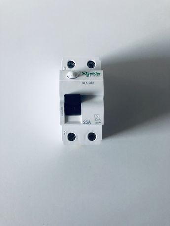 SCHNEIDER Wyłącznik różnicowoprądowy 1-faz 2P 25A