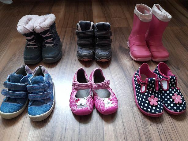 Buty dziewczęce roz. 22,23,24