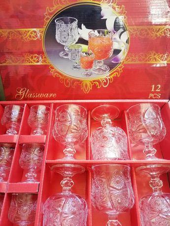 Набор бокалов 12 штук, Glassware.