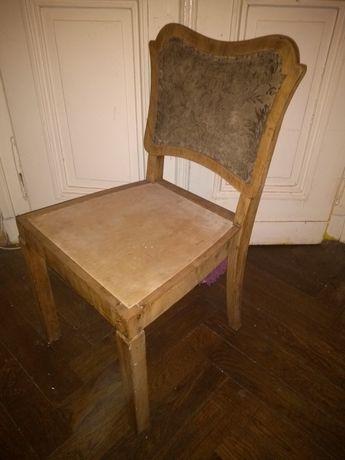 Krzesło drewniane do odnowienia