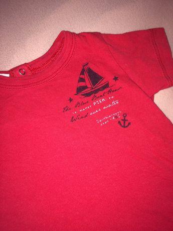 Tshirt bluzka koszulka 68 benetton bawełna koszula bluza