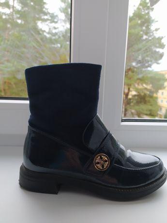 Демисезонные ботинки, сапожечки 34р
