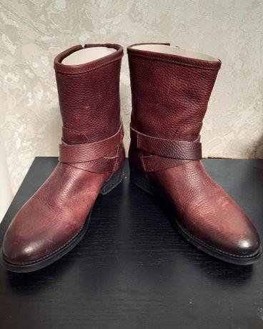 Ботинки кожаные женские Tommy Hilfiger