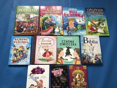 Książki baśnie i bajki dla dzieci, stan idealny do wyboru,Martynka itp