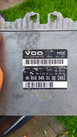 Блок управления двигателем Мерседес 124  0165453132