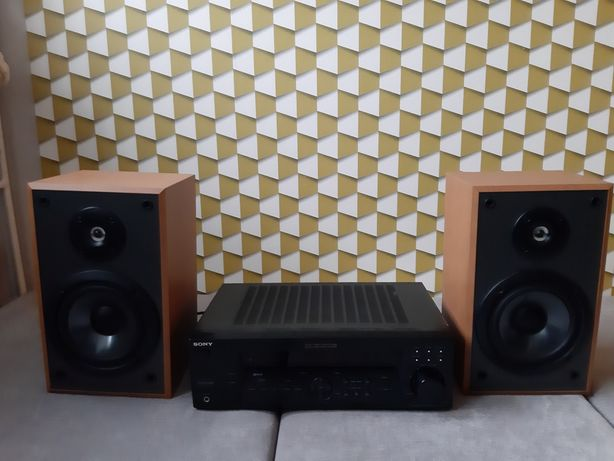 Zestaw Amplituner Sony STR-DE375 i kolumny Sony