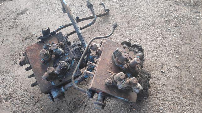Запчасти установки БОРЕКС распределитель насос цилиндр трубки рычаги