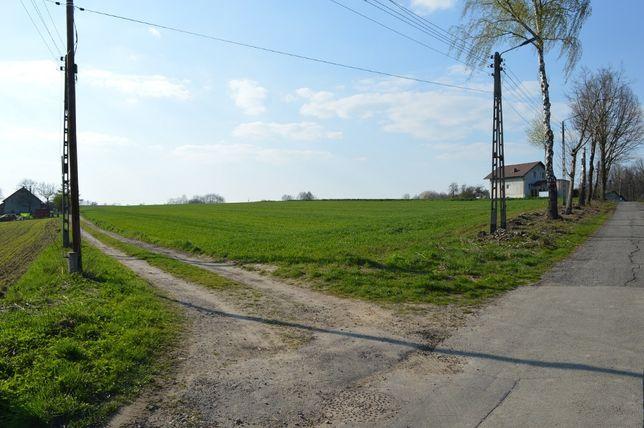 Działka budowlana 25 arów Poręba koło Pszczyna Łąka Czarków - Śląsk