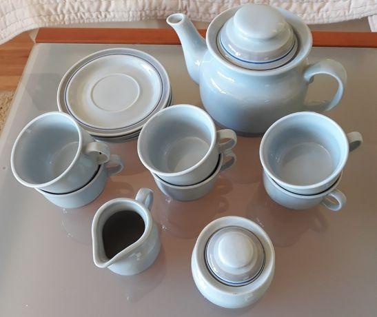 Garnitur Serwis kawowo herbaciany CADMIUM PRL