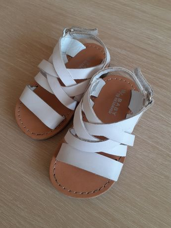 Sandały sandałki Reserved 19 lato idealne biale