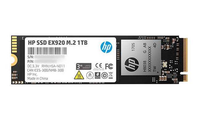 НОВИЙ SSD HP EX920 EX950 1TB NVMe TLC 3D NAND 650TBW 3500/2900 Мб/с