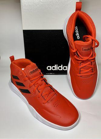 Новые оригинальные кроссовки Adidas кожаные