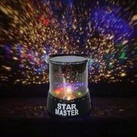 Ночник проектор звездное небо лампа светильник Star Master от 340руб