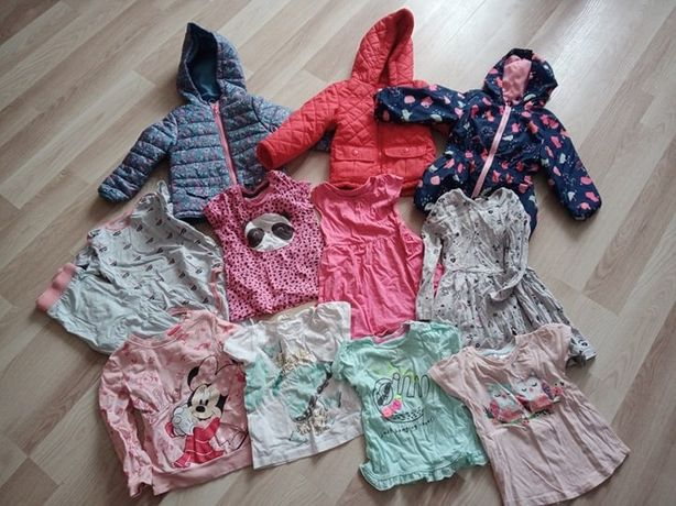 sprzedam ubranka dla dziewczynki