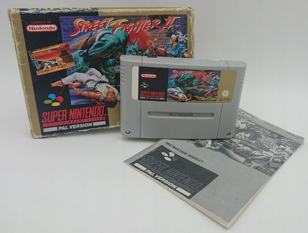 Street Fighter 2 Super Nintendo SNES PUDEŁKO