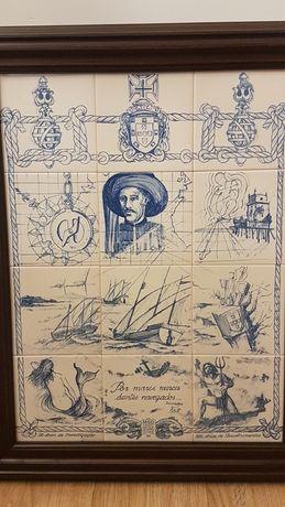 Quadro em azulejos das comemorações, aos 500 anos dos descobrimentos