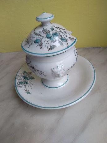 Cukierniczka porcelanowa, stara śliczna porcelana.
